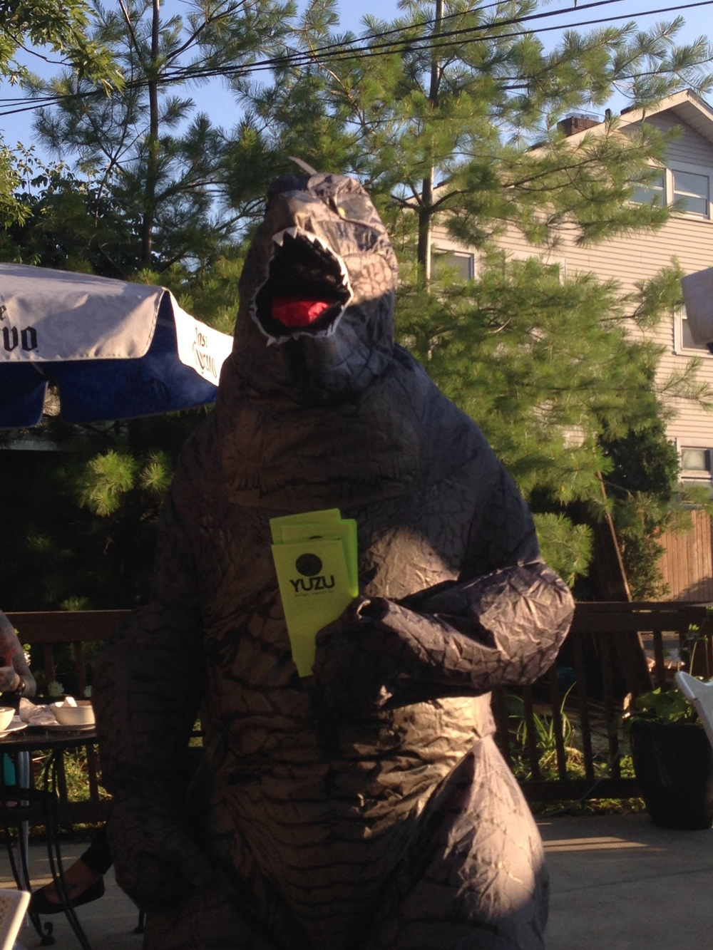 Spotted: Godzilla, at Yuzu