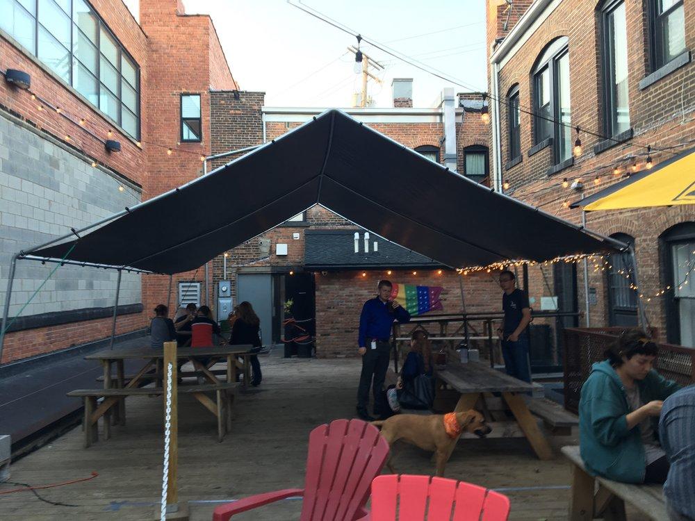 The patio @ Jukebox