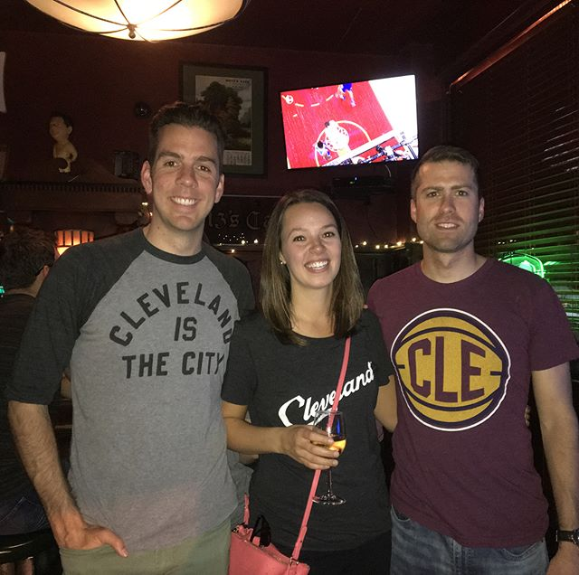 """I started """"The Bar League"""" in 2016 to fulfill my New Year's resolution to start something from scratch that was fun and creative. For two years, I gathered friends each month to check out different bars in #CLE and blogged about our adventures along the way.  I've since moved away from Cleveland, but I'll never forget all of the great memories and new friendships that were made thanks to my little bar league.  My farewell blog post with 10 of my favorite memories is in the link in my bio!  Cheers to new adventures 🍻 // #thebarleaguecle #clegram #thisiscle #cleveland #clevelandthatilove #cledrinks #cleeats #clefoodies #cheers"""
