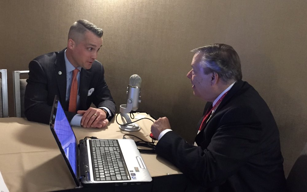 Discussing the merits of free trade on Michael Libbie's BusinessHour radio program; Washington, D.C.