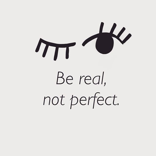 Inspiration for the day! Be who you are 🤗 #bereal #nobodyisperfect #inspo