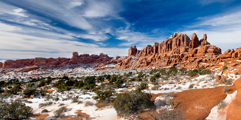 The Klondike Bluffs, Arches National Park