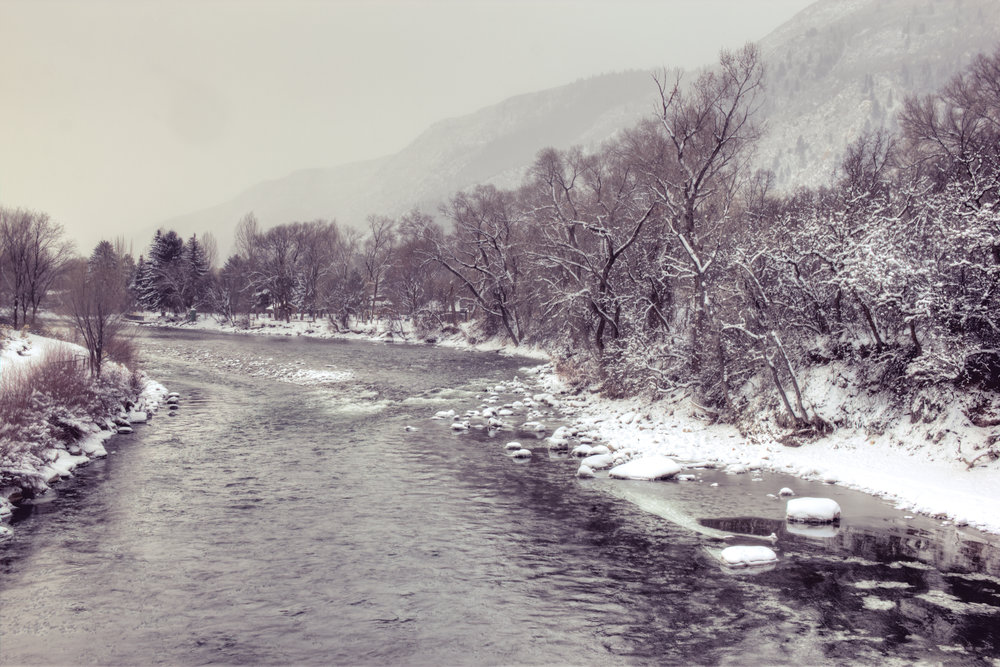 Glenwood Springs Winter Morning