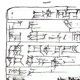 cuneiform generated by neural network