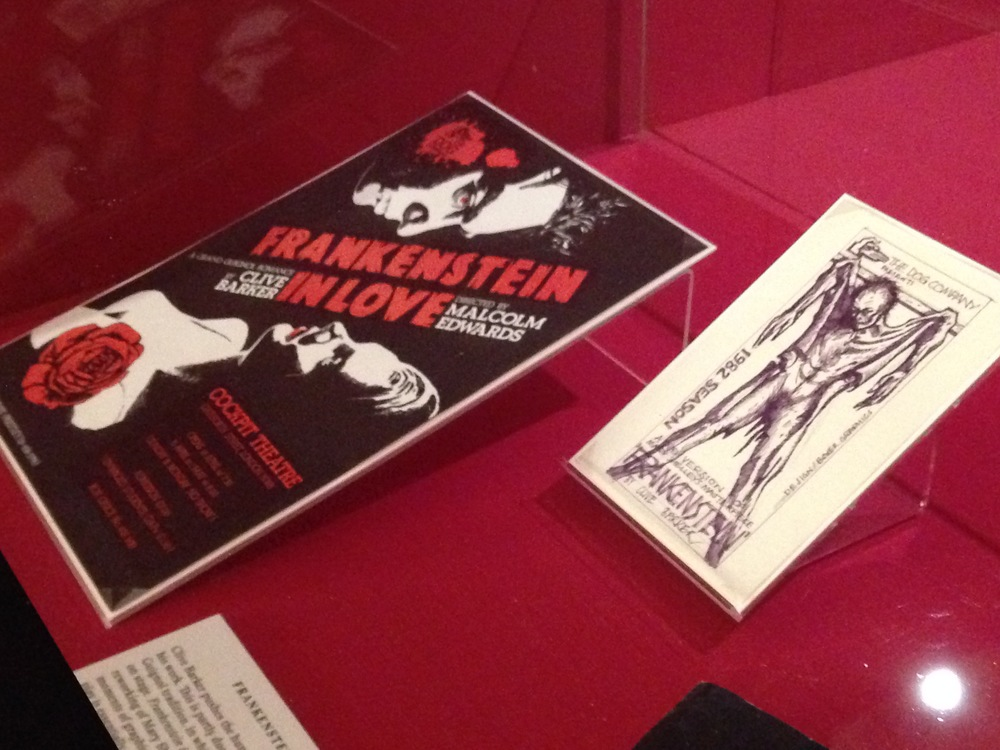 Frankenstein in Love at The British Library, 2014