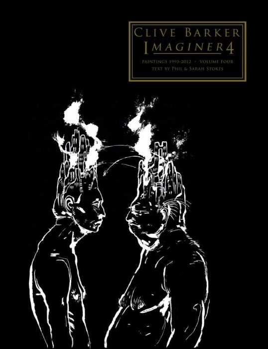 Imaginer 4 (2017) - cover art - Minds At War by Clive Barker