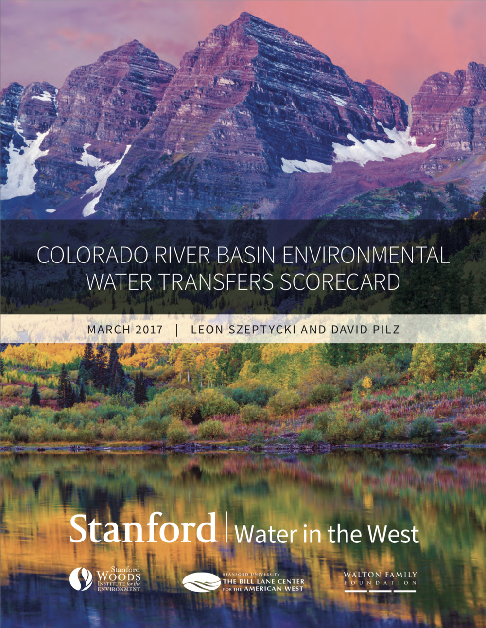 Colorado River Basin Environmental Water Transfers Scorecard