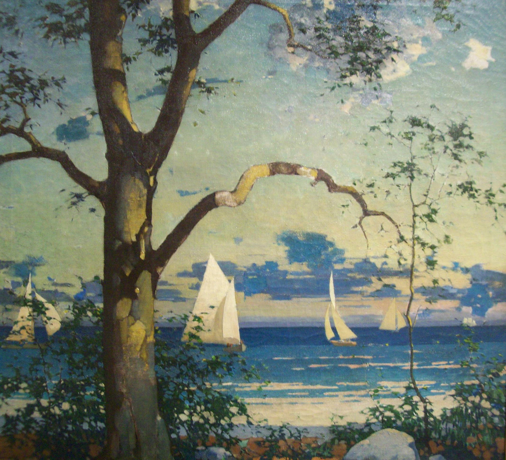 Nathaniel Little, Seascape, restored to FPAFA Collection in 2006