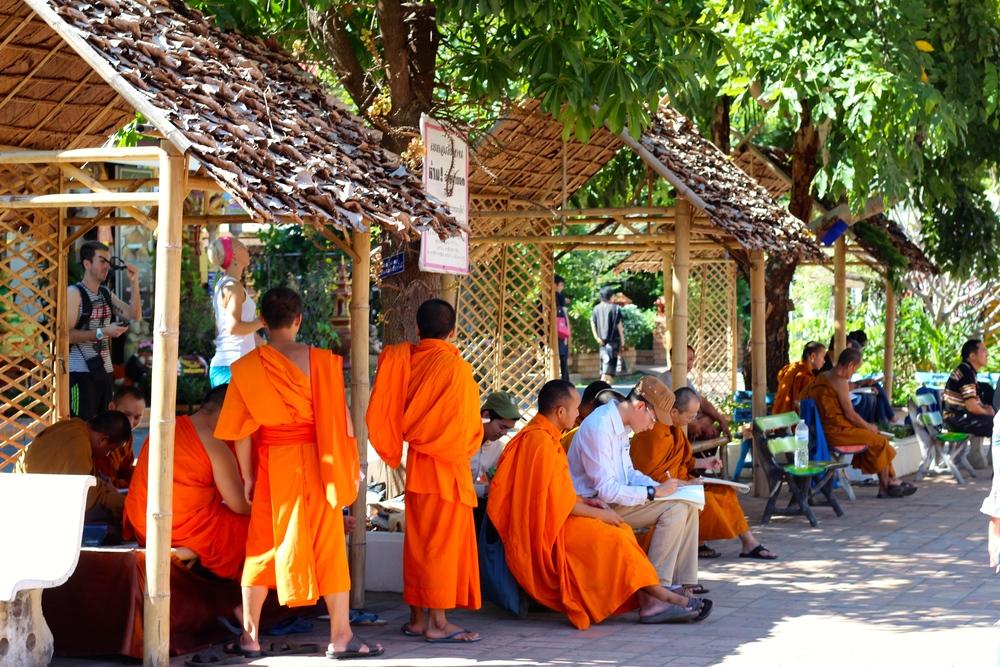 Monk art class