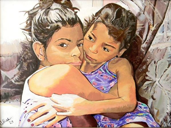 Adriana and Ayana