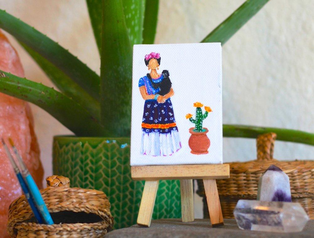 fresh bloom: Frida
