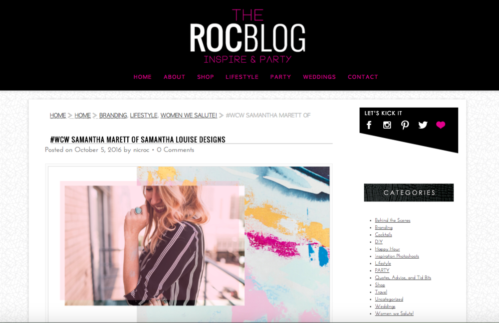 The Roc Blog