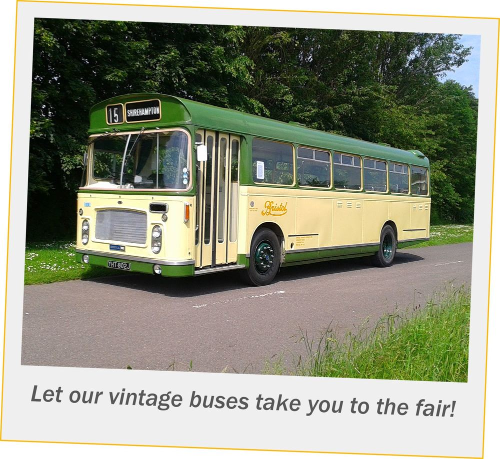 South-Cerney-Street-Fair-Vintage-Bus