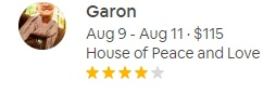 """""""Suzanne was a wonderful host. Her home is a huge piece of art itself and it was amazing to get to be a guest in her home."""" - -Garon"""