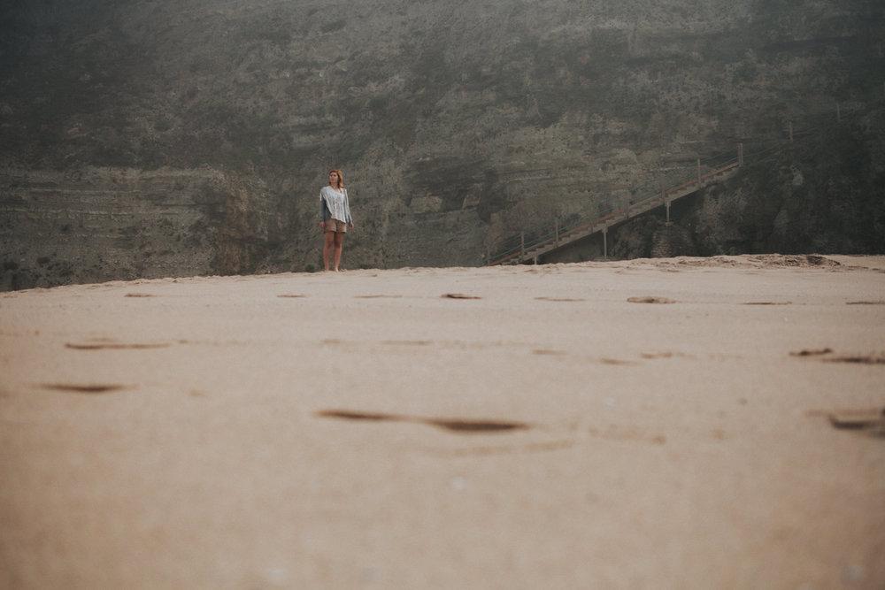 Stairs at Praia da Aguda