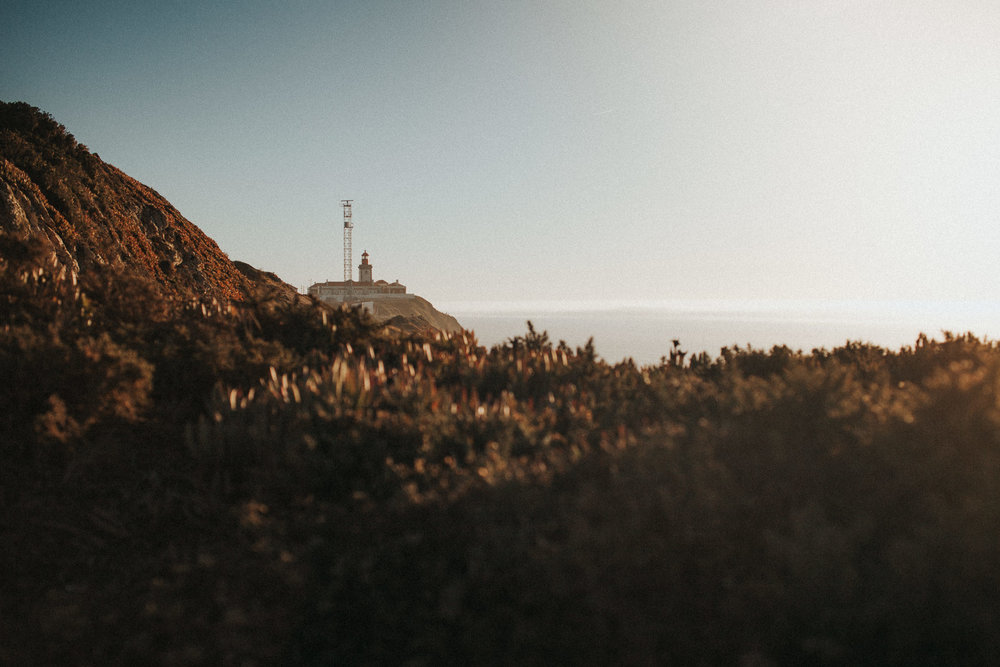 Lighthouse at Cabo da Roca during Golden Hour