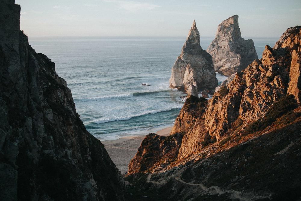 Rocks of Praia da Ursa