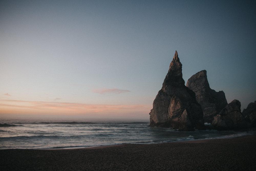 Golden Hour at Praia da Ursa