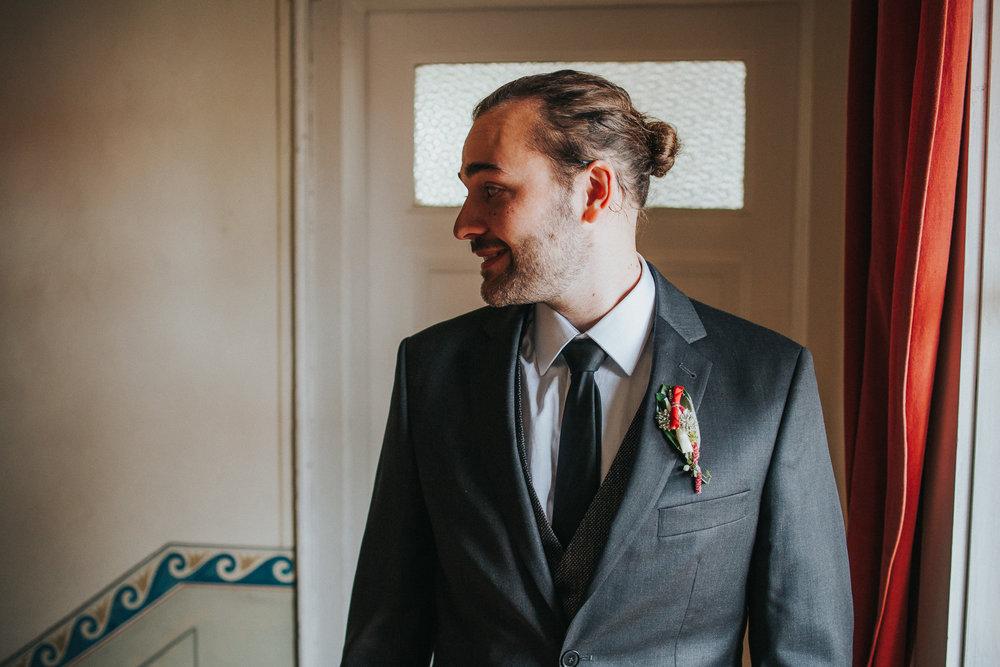 Portrait von Bräutigam