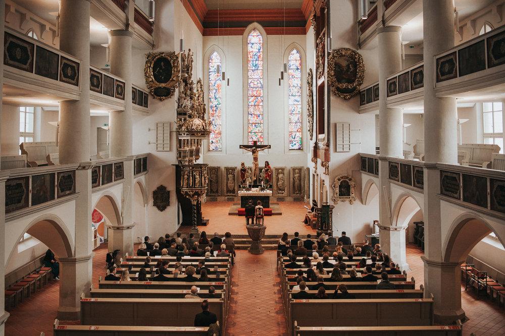 Innenaufnahme Lutherhaus Eisenach