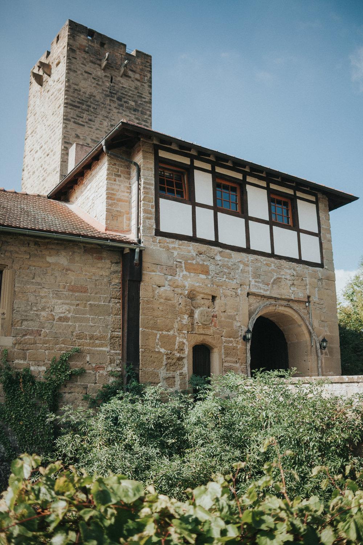 Eingang zur Burg Ravensburg