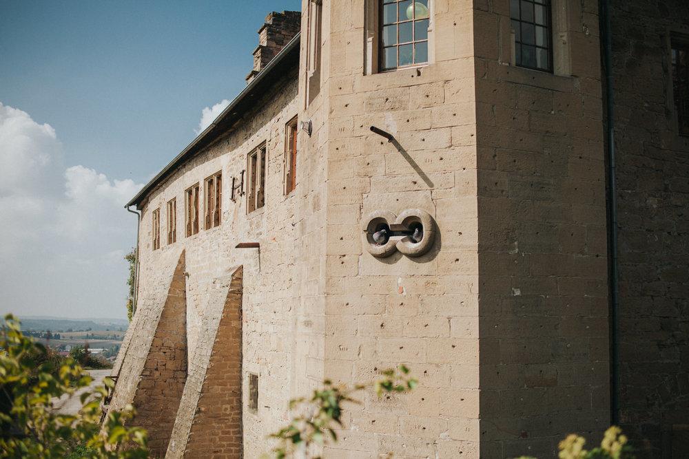 Burg Ravensburg von Außen