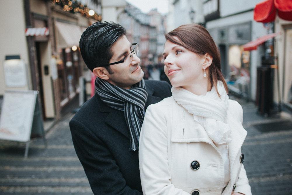 Brautpaar in Marburg