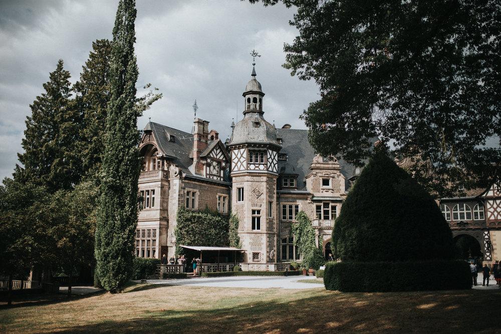 Innenhof Schloss Rauischholzhausen