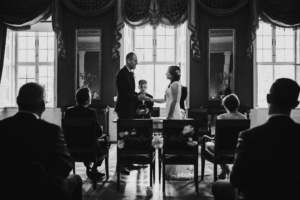 Ringübergabe vom Brautpaar