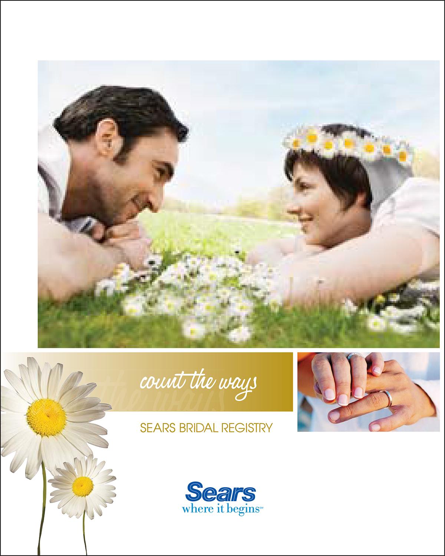 Sears Wedding Registry | Advertising Design Melissa Brower