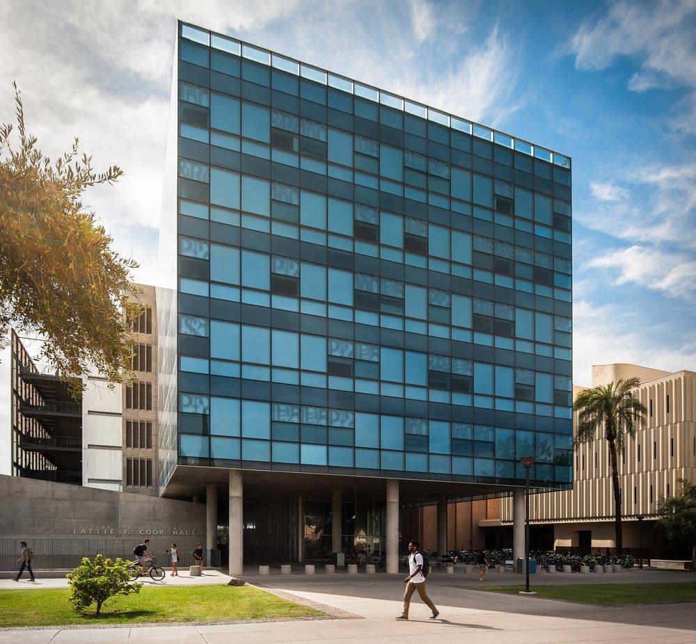 tempe architectural photography - coor hall ASU tempe, Arizona