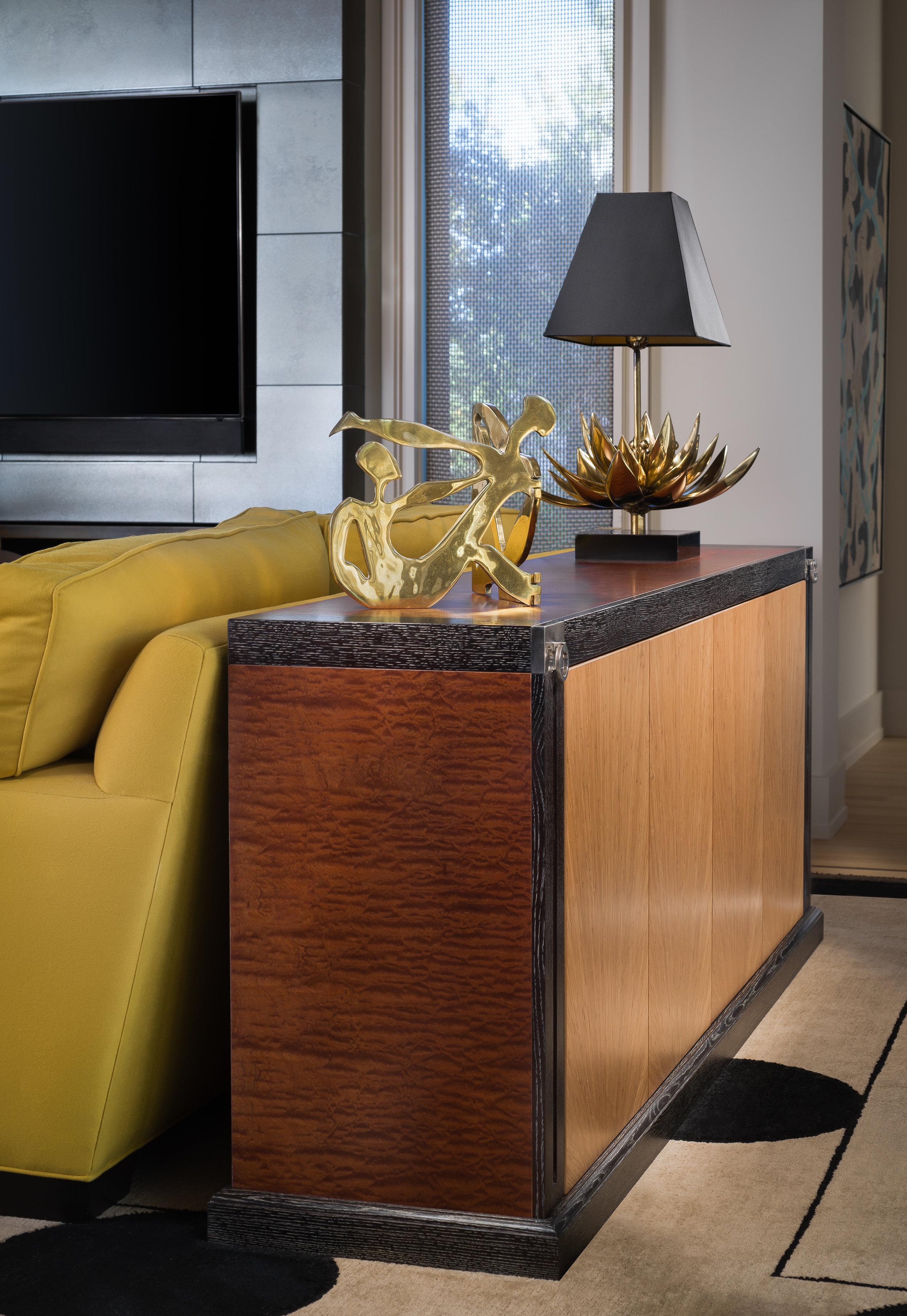 Second Credenza in Livingroom