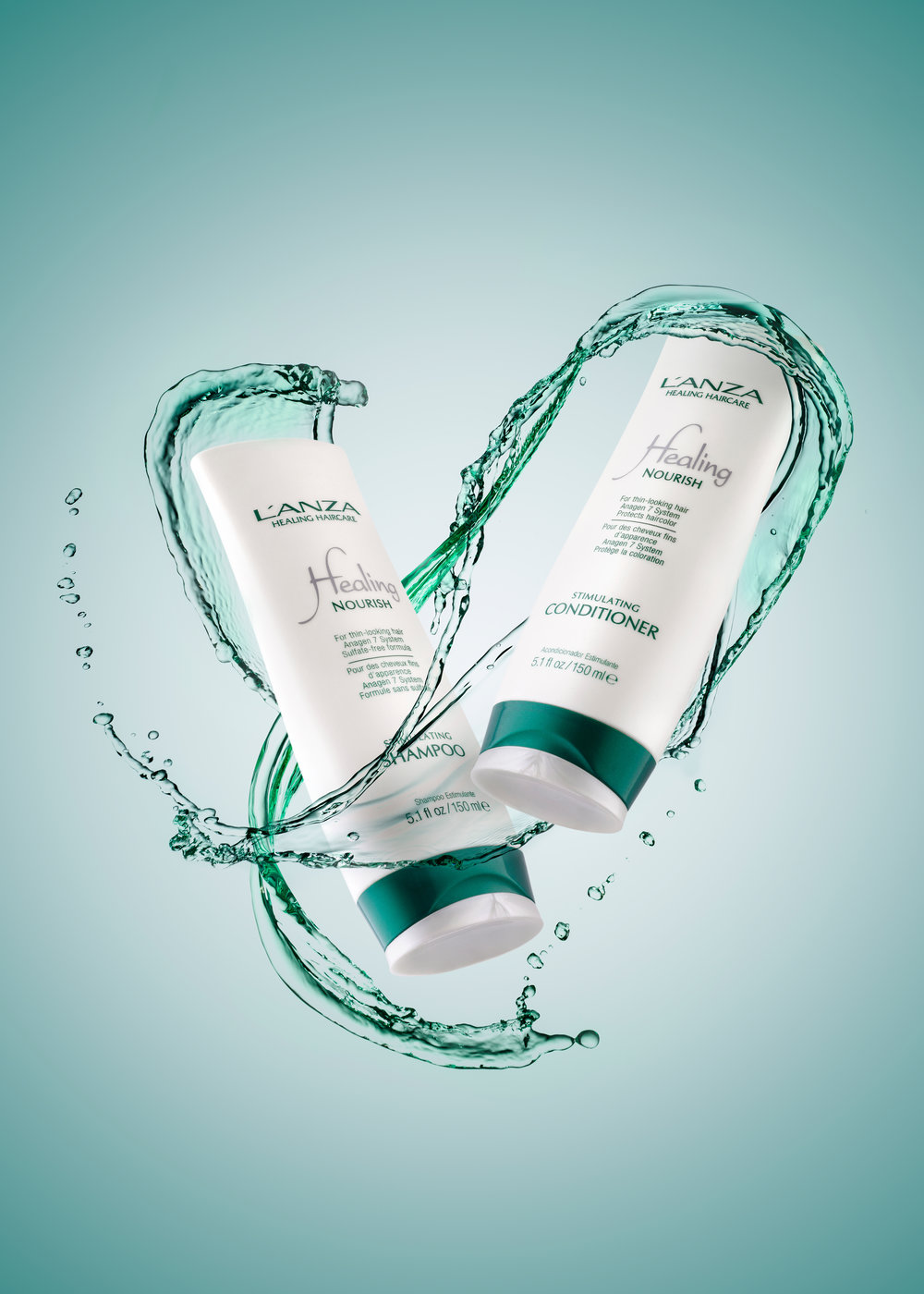 lanza haircare photo product photography