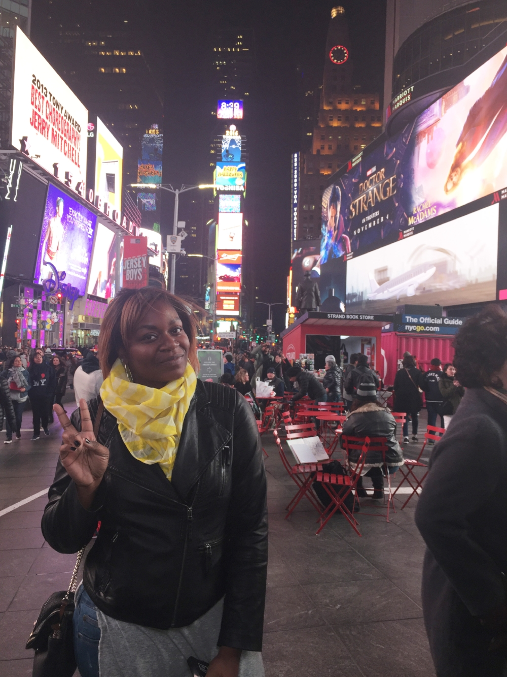 In Times Square