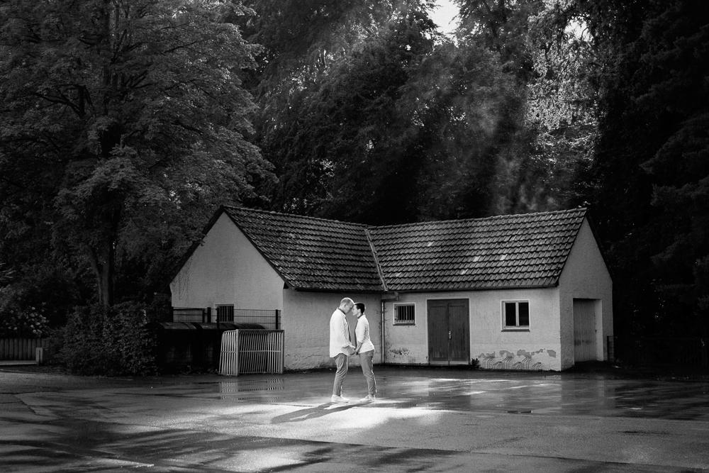 Regen I Hochzeitsfotos