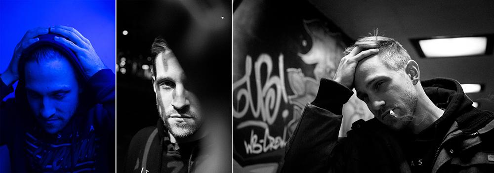 Helge Töller Portraits, schwarz/weiß, Fotografie: paddelproduction Bielefeld