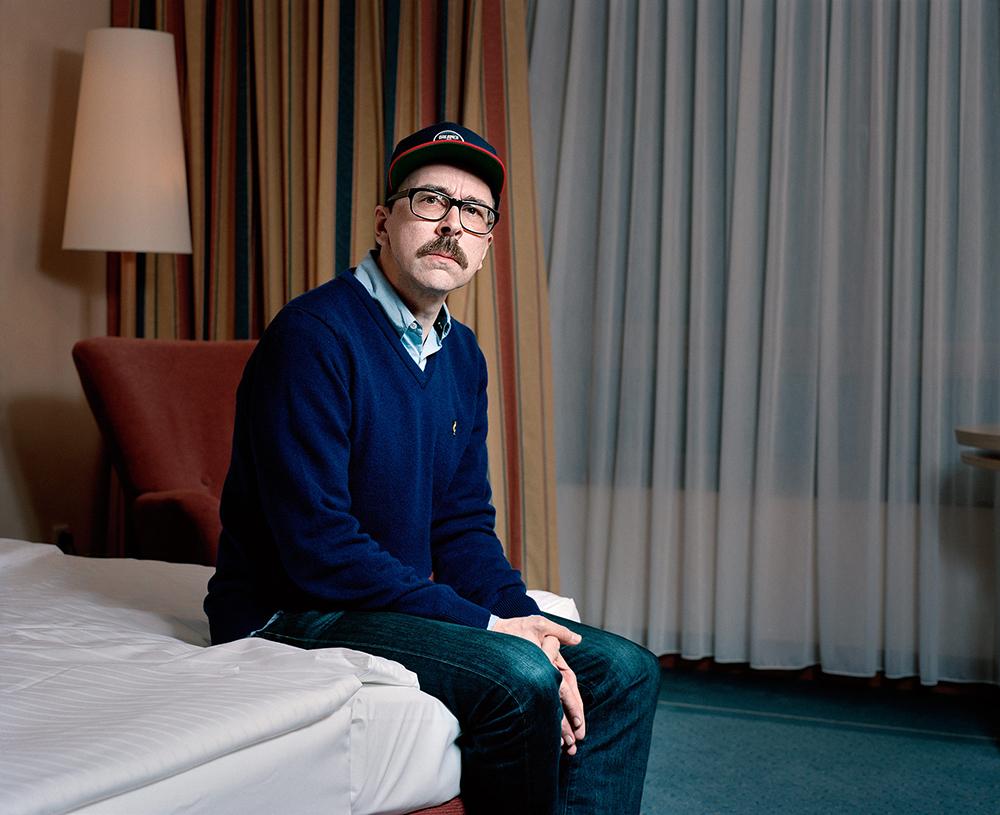 Moderator und DJ Hans Nieswandt von 1Live im Portrait Foto: Patrick Pollmeier