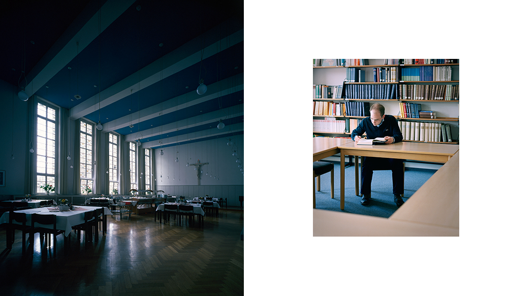 Bibliothek und Speisesaal I Priesterseminar Paderborn