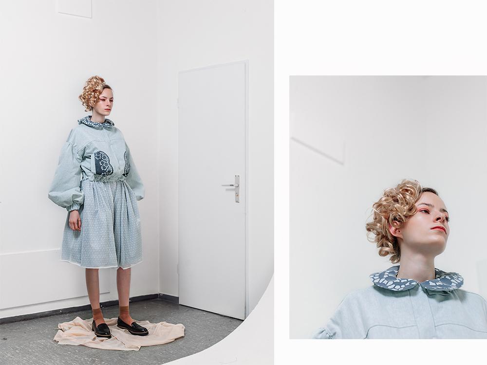 """Modekollektion """"Forever Young"""" von Trang Kim (Foto: Patrick Pollmeier) FH Bielefeld, Mode"""