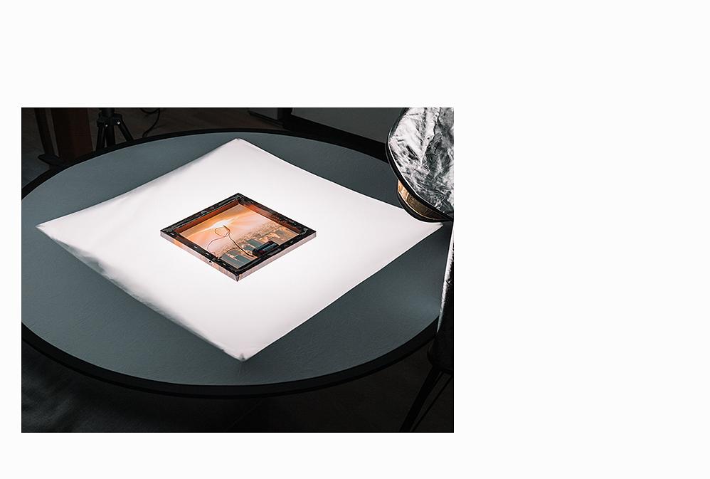 Negativ, Tisch, Sensor