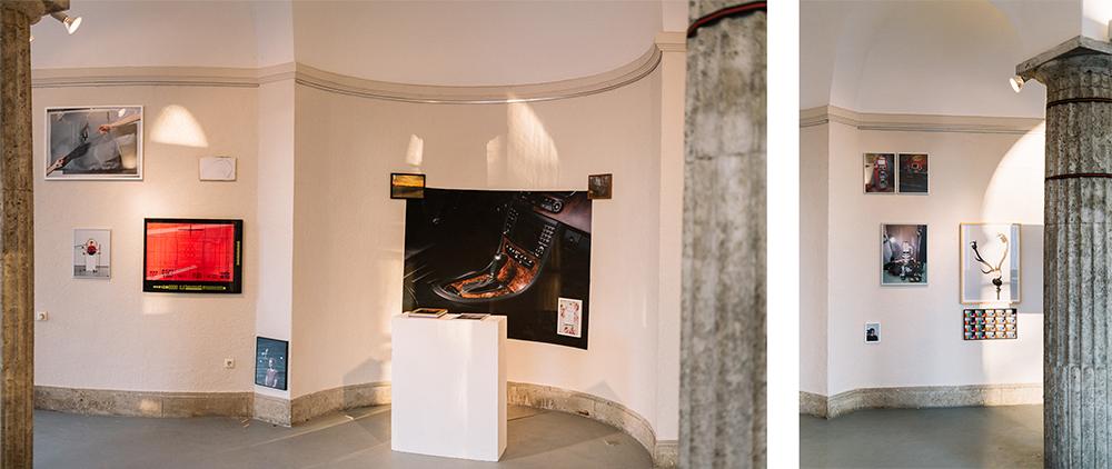 Ausstellungsansicht: Kunstverein Bad Nauheim Patrick Pollmeier - Das Papier ist glatt