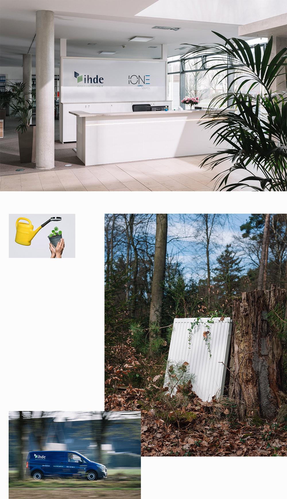 Werbefotografie Bielefeld: Beispiel IHDE Gebäudetechnik