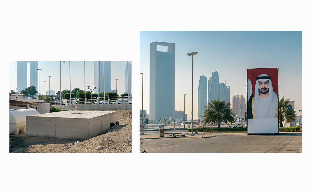 Fotografien aus dem Orient, Abu Dhabi