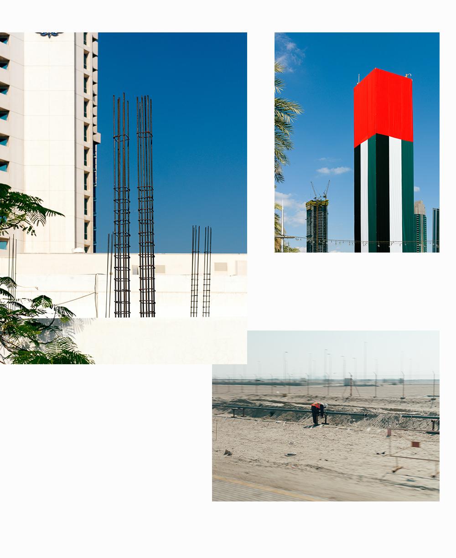 Fotografien aus dem Orient, Gebäude und Öl