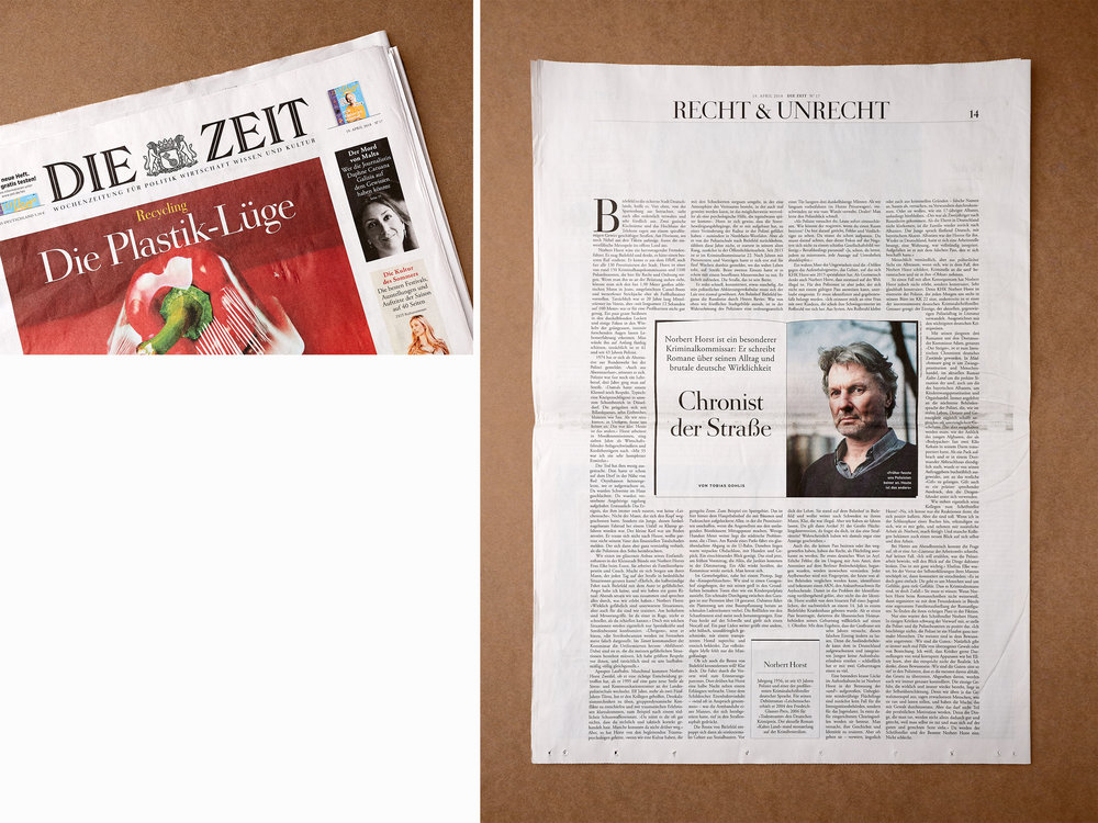 Die Zeit, 2018, Chronist der Straße