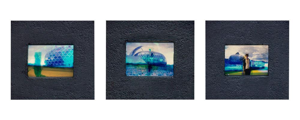 Instants T - boitier lumineux avec diapositives - Amélie Bernard - 2017