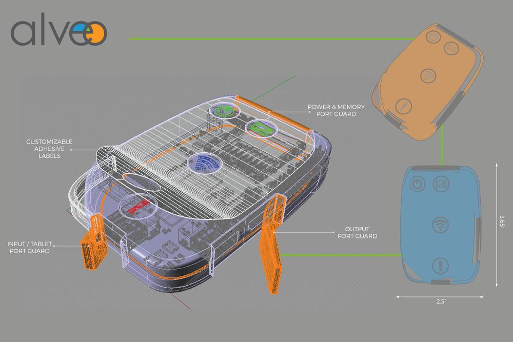 'Round' case concept