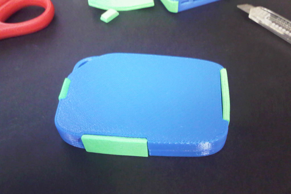'Round' prototype with port covers