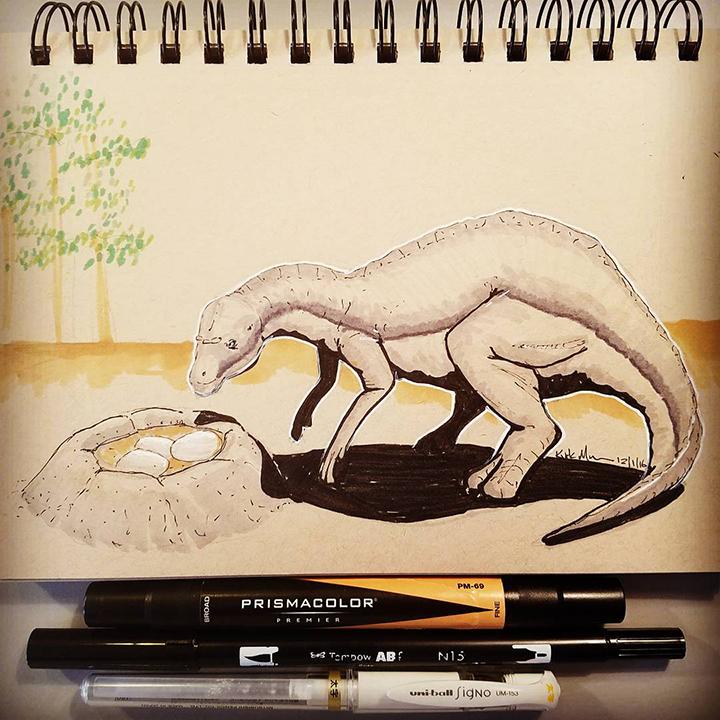 13 Maiasaura