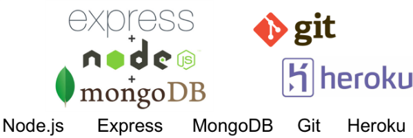 Finally, you'll learn Back End using node.js, express, MongoDB, and deployment in the cloud using Git and Heroku.